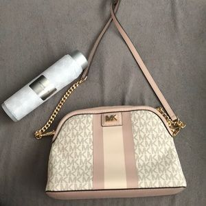 Michael Kors crossbody hand bag and safety spray